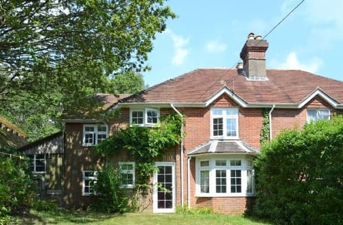 Big Cottages - Superb Brockenhurst Cottage S14071