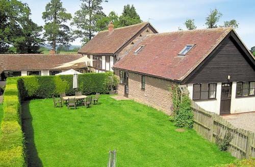 Big Cottages - Stunning Tenbury Wells Cottage S16380