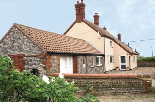 Big Cottages - Beautiful Happisburgh Cottage S17255