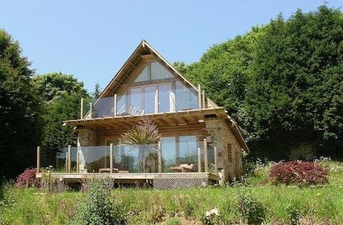 Big Cottages - Superb Ivybridge Lodge S19543