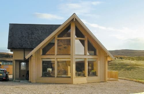 Big Cottages - Exquisite Portree Lodge S22518