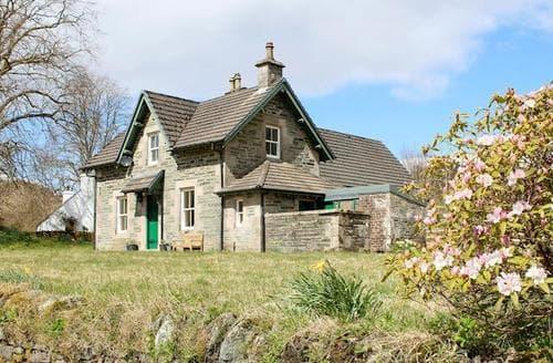 Last Minute Cottages - Excellent Lochgilphead Lodge S80270