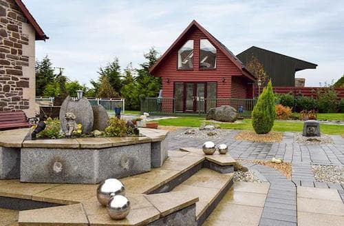 Last Minute Cottages - Adorable Stirling Lodge S87149