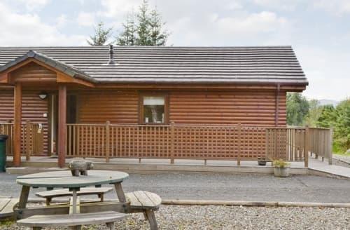 Big Cottages - Wonderful Crieff Lodge S23376