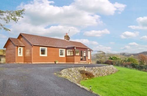 Last Minute Cottages - Wonderful Girvan Lodge S23515