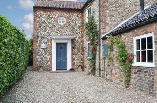 Last Minute Cottages - Delightful Blakeney Cottage S93058