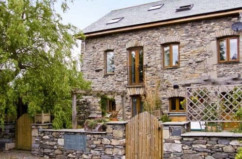Big Cottages - Superb Grange Over Sands Barn S3454