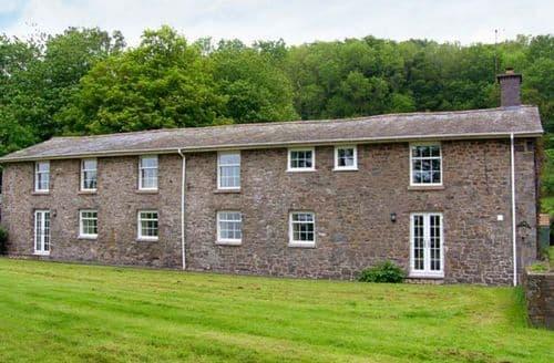 Big Cottages - Lovely Aberhafesp Cottage S9596