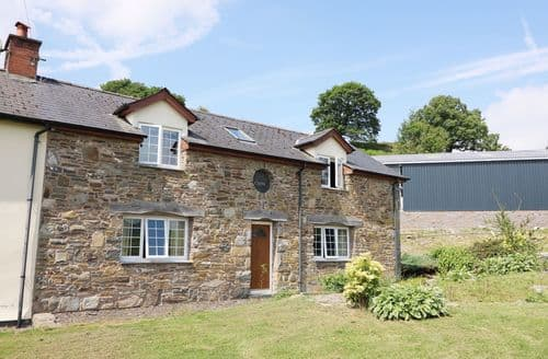 Big Cottages - Captivating Tylwch Cottage S77495