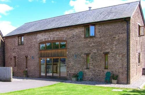 Big Cottages - Superb Cwmcarvan Cottage S6960