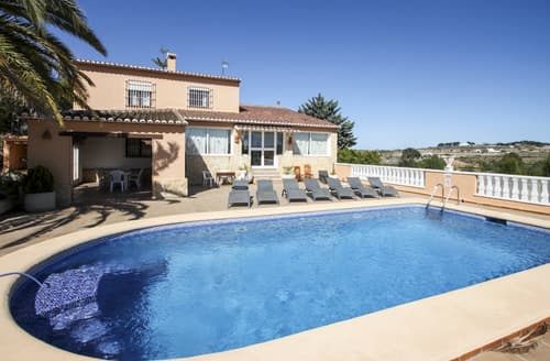 Big Cottages - Cosy Benissa (Alicante) Cottage S116341