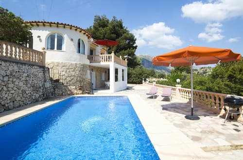 Big Cottages - Captivating Calpe (Alicante) Cottage S116209