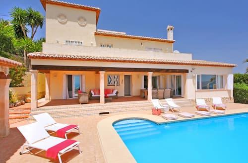 Last Minute Cottages - Beautiful Moraira Cottage S115053