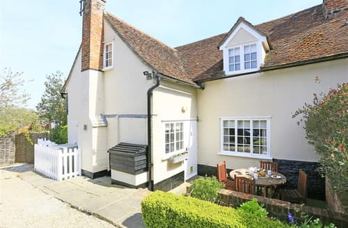 Last Minute Cottages - Charming Kersey Cottage S97421