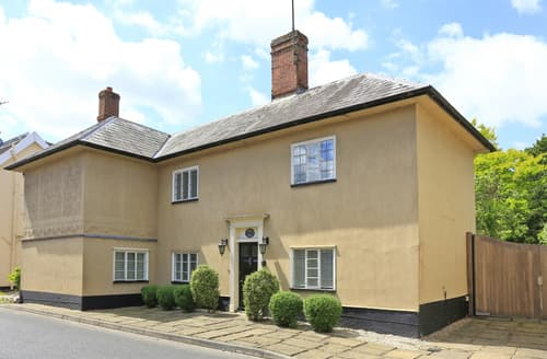 Big Cottages - Superb Yoxford Cottage S101637