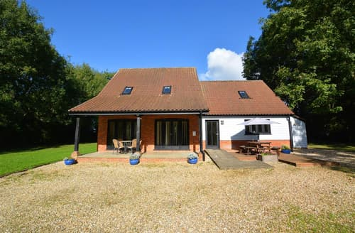 Last Minute Cottages - Captivating Thursford Lodge S71556