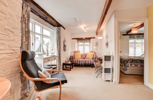 Last Minute Cottages - Adorable Looe Apartment S42859