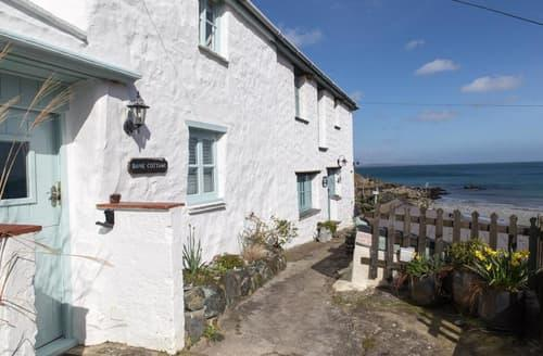 Last Minute Cottages - Adorable Coverack Cottage S89225