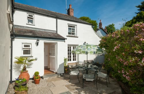 Last Minute Cottages - Inviting Helford Cottage S93186