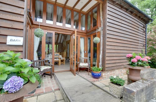 Big Cottages - Tasteful Hadlow Down Apartment S103014