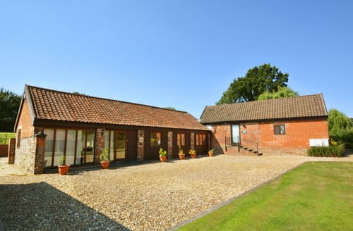 Last Minute Cottages - Cosy Saxlingham Thorpe Rental S10099