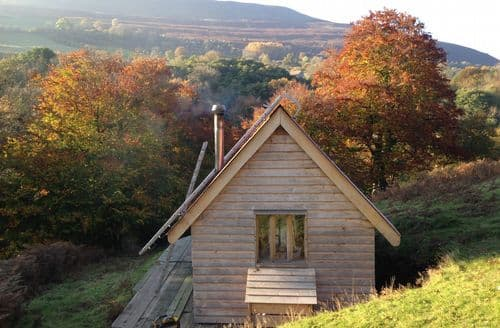 Last Minute Cottages - Inviting Crickhowell Log Cabin S45950