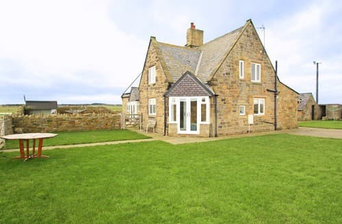 Last Minute Cottages - Inviting Widdrington Cottage S97935