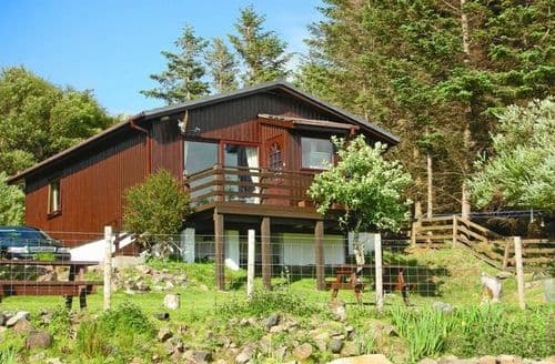 Last Minute Cottages - Adorable Lairg Log Cabin S7365