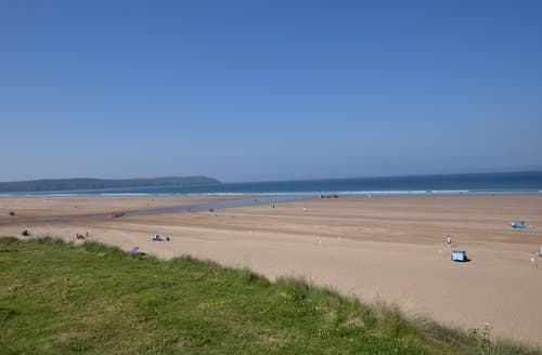 Last Minute Cottages - Captivating Woolacombe Apartment S92639