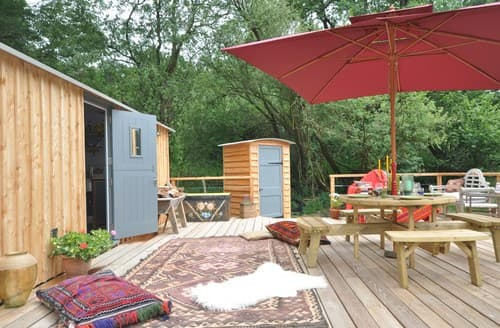 Last Minute Cottages - Luxury Presteigne Log Cabin S84895