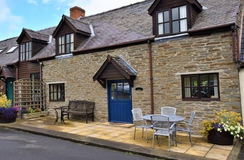 Last Minute Cottages - Excellent Craven Arms Cottage S84390
