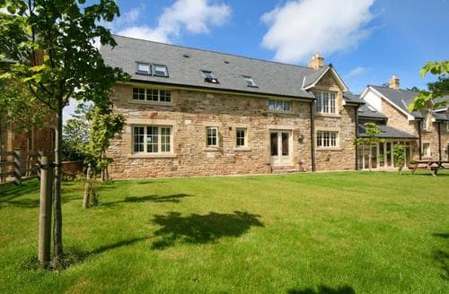 Big Cottages - Beautiful Chathill Cottage S98076
