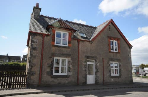 Big Cottages - Splendid Brora House S7367