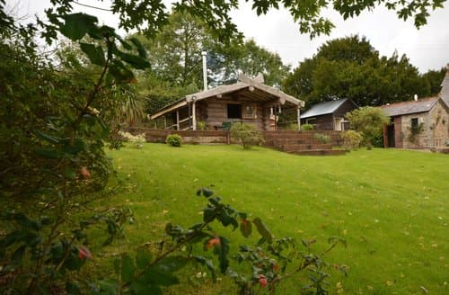Last Minute Cottages - Delightful Gunnislake Log Cabin S85905
