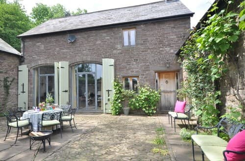 Big Cottages - Beautiful Abergavenny Barn S104389