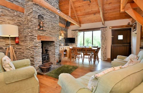 Dog Friendly Cottages - Wonderful Padstow Barn S81517
