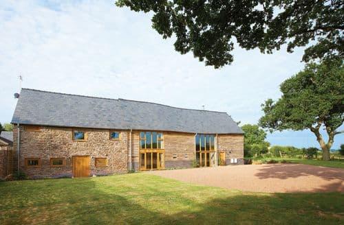 Last Minute Cottages - Wall Hills Barn, Thornbury, Bromyard