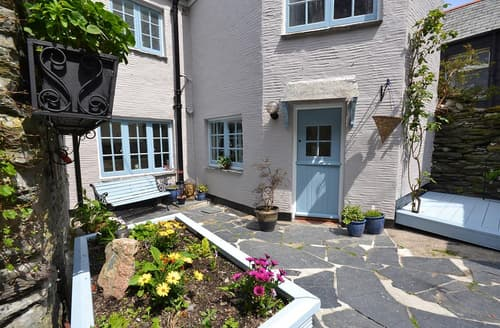 Last Minute Cottages - Cosy Cornwall Polperro Cottage S101842