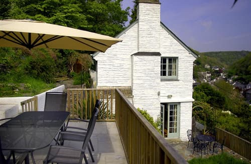 Last Minute Cottages - Tasteful Cornwall Polperro Cottage S102217