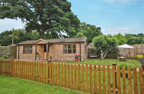 Last Minute Cottages - Wonderful Fordingbridge Lodge S102437