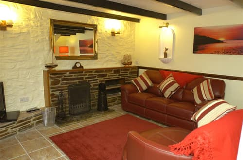 Last Minute Cottages - Gorgeous Cornwall Polperro Cottage S102235