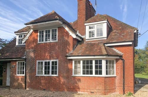 Big Cottages - Lovely Fareham Lodge S123952