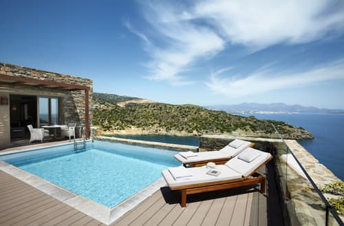 Last Minute Cottages - Daios Two Bedroomed Wellness Villa
