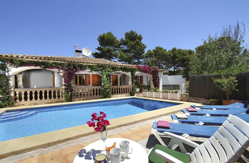 Big Cottages - Beautiful Cala San Vicente  Cottage S124585