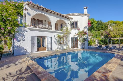 Last Minute Cottages - Captivating Benissa Cottage S124924