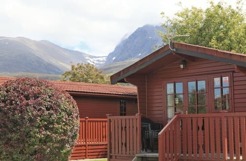 Big Cottages - Lovely Camaghael Lodge S125326