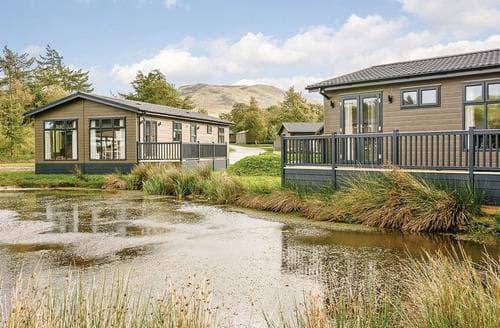 Last Minute Cottages - Luxury Bewaldeth Lodge S126254