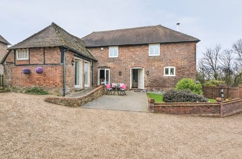 Big Cottages - Attractive Ashford Cottage S13531