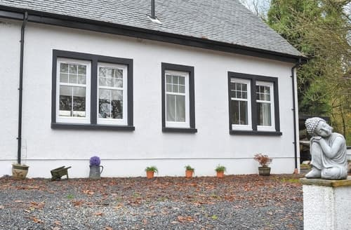 Last Minute Cottages - Tasteful Girvan Lodge S23510