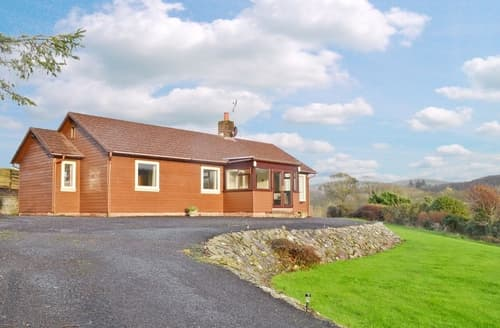Big Cottages - Wonderful Girvan Lodge S23515